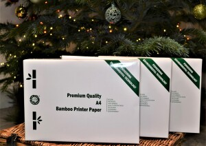 Bamboo Taster Gift Box with Bamboo Printer Paper from The Little Green Orca